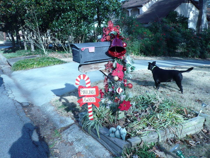 Mailbox Christmas Decorations.Christmas Decoration For Mailbox Hometalk