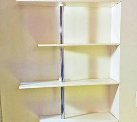Great Use Closet Rods To Create A Custom Fit Shelving Unit, Closet, Shelving  Ideas,