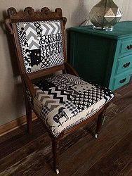 antique parlor chair update, reupholster - Antique Parlor Chair Update Hometalk