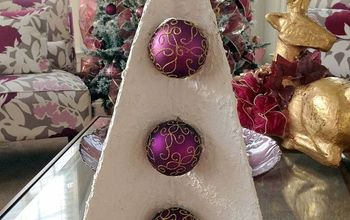 3d corrugated cardboard christmas tree, christmas decorations, crafts, repurposing upcycling, seasonal holiday decor
