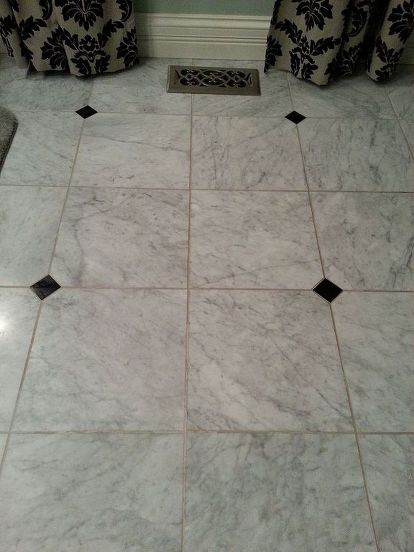 How To Clean Grout On Honed Marble Floor Bathroom Ideas Cleaning Tips Flooring