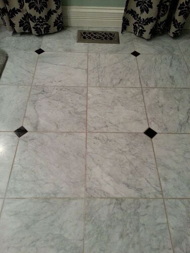 How To Clean Bathroom Floor Tile Grout