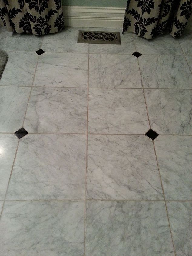 what do you use to clean grout on a honed marble floor hometalk