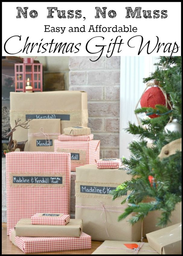 Easy and Fast Christmas Gift Wrapping   Hometalk