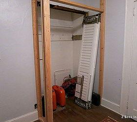 Superb Small Space Solution Laundry Closet Makeover, Closet U2026