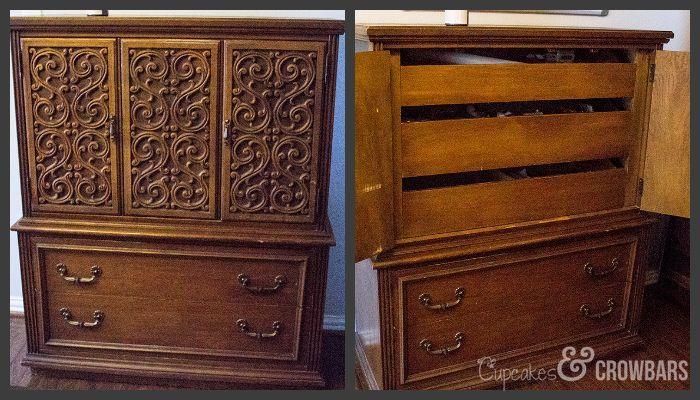 Diy Antique Dresser Update Painted Furniture