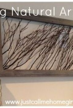 create natural wall art using wooden sticks, crafts, repurposing upcycling, wall decor