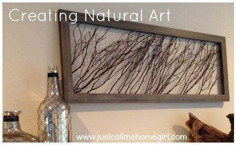 Create Natural Wall Art Using Wooden Sticks Crafts Repurposing Upcycling Decor