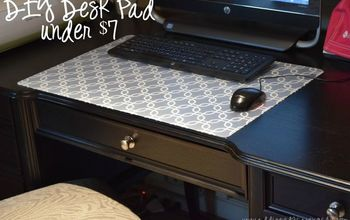 DIY Desk Pad Under $7