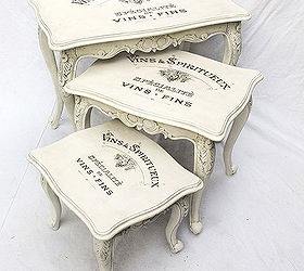 Wonderful Vintage Shabby Chic Decal Transfer To Furniture And Wood, Painted Furniture,  Shabby Chic