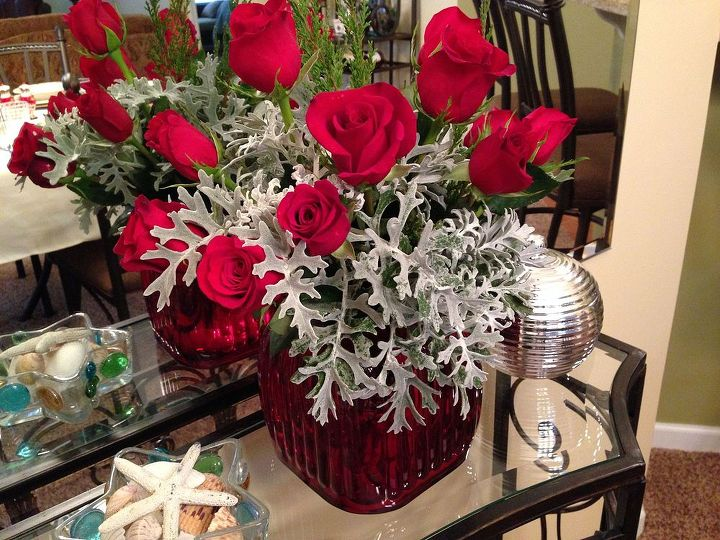 My beautiful Christmas arrangement