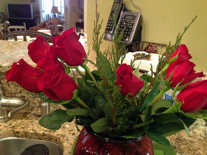 making your cut roses look professional in a vase, flowers, gardening, home decor
