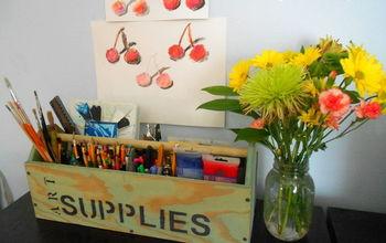 Art Supply Carrier #Backtoschool