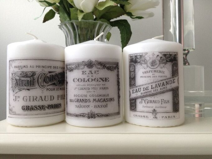 diy french candles, crafts, repurposing upcycling