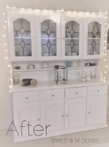DIY ...Old Kitchen Hutch Transformed and Re-Styled!! | Hometalk