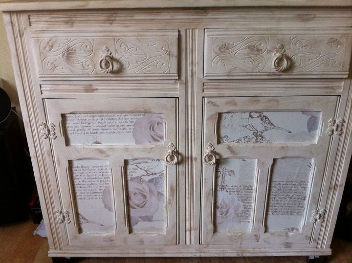 restored vintage furniture, decoupage, fireplaces mantels, painted furniture,  My own house furniture - Restored Vintage Furniture Hometalk