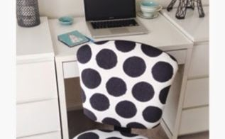 diy re styled office chair in 5 easy steps, how to, reupholster