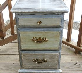Lovely How To Use Chalkpaint On An Old Laminated Nightstand, Chalk Paint, Painted  Furniture