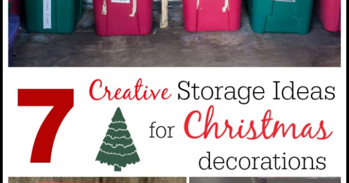 how to organize and store christmas decorations hometalk - How To Organize Christmas Decorations