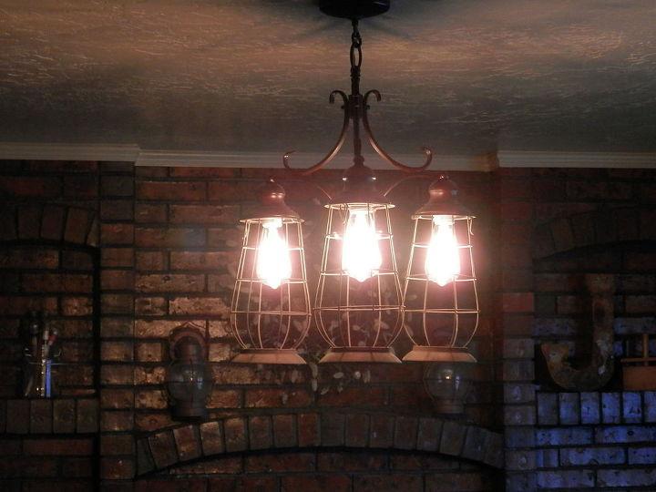repurposed reclaimed light fixture, crafts, lighting, repurposing upcycling
