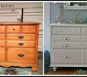 Exceptional How To Add Feet To A Dresser Before And After, How To, Painted Furniture