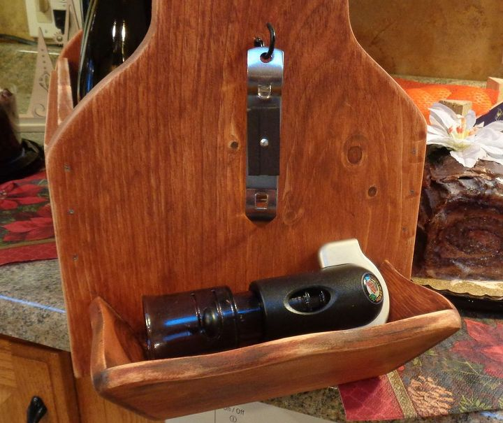 tool caddy style beverage tote, how to, repurposing upcycling, woodworking projects