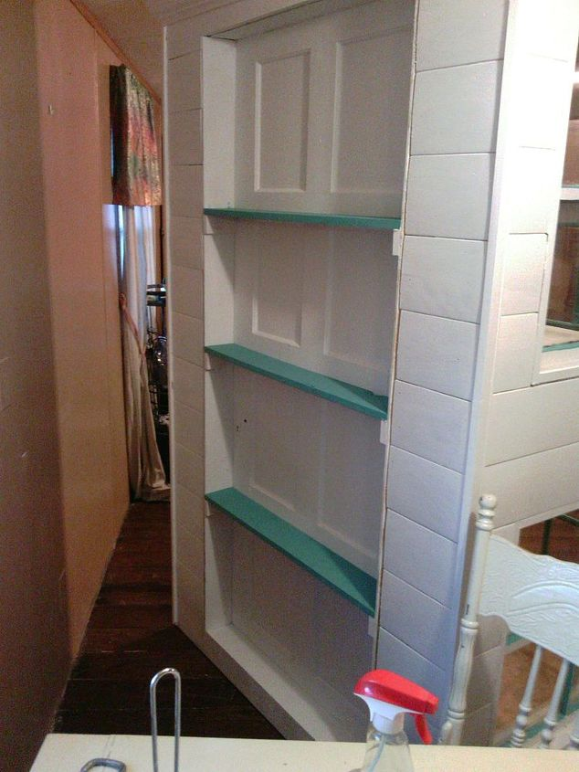 Well-liked DIY Cabinet Pantry from Old Doors and Windoors | Hometalk EQ23