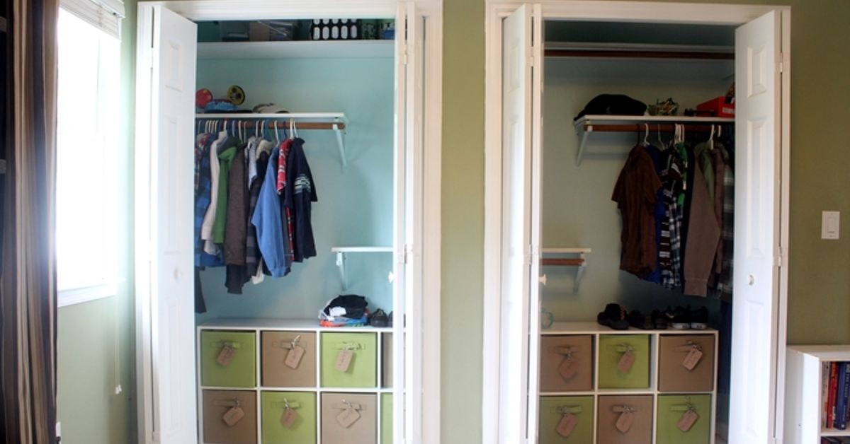 . Organizing Kids Clothes in Closet   Hometalk
