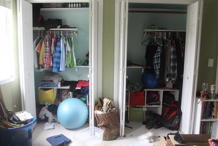 Organizing Kids Clothes in Closet   Hometalk