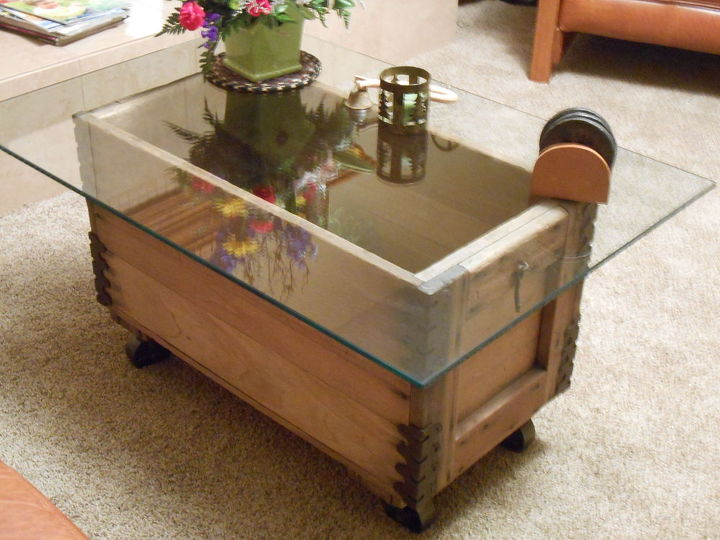 Diy Coffee Table Cart Showcase Hometalk