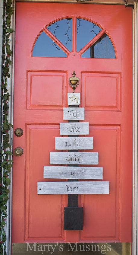 easy christmas outdoor decorations, christmas decorations, porches, repurposing upcycling, seasonal holiday decor