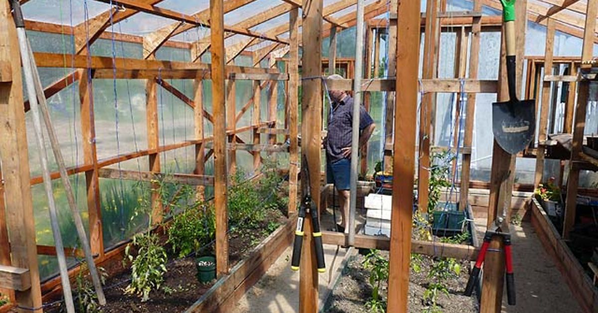 Indoor Greenhouse Diy Winter