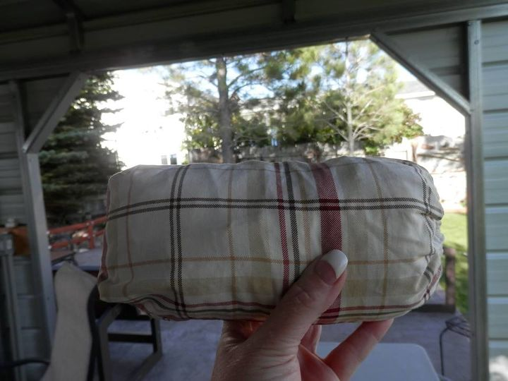 Using A Bed Sheet As An Outdoor Table Tablecloth Hometalk