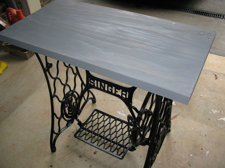 Singer sewing machine cabinet makeover to hall table hometalk singer sewing machine cabinet makeover to hall table kitchen cabinets kitchen design painted watchthetrailerfo