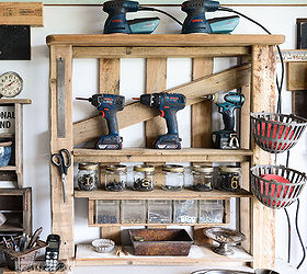 Merveilleux From A Lowly Pallet To The Ultimate Tool Storage Shelf, Pallet, Shelving  Ideas,