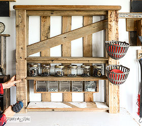 From A Lowly Pallet To The Ultimate Tool Storage Shelf, Pallet, Shelving  Ideas,
