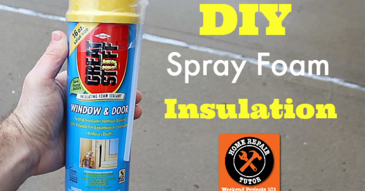 Diy spray foam insulation plus 2 other tips to stay warmer hometalk solutioingenieria Images