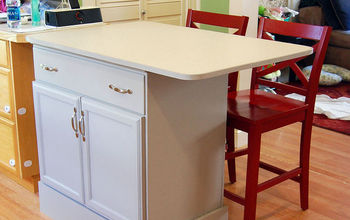 Dresser Into Custom Kitchen Island