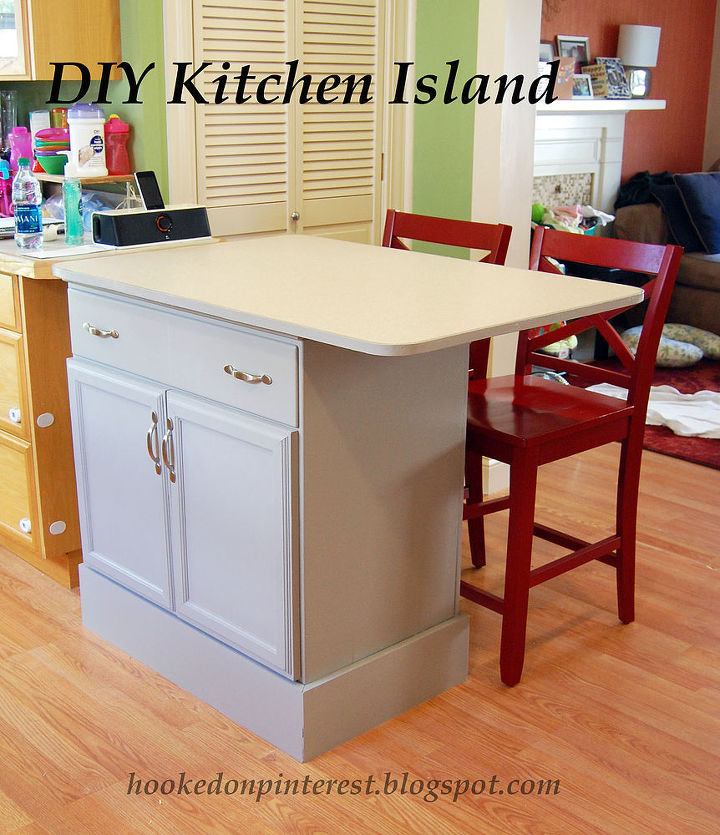 Kitchen Islands Made From Old Furniture: Repurposed Dresser Into Custom Kitchen Island