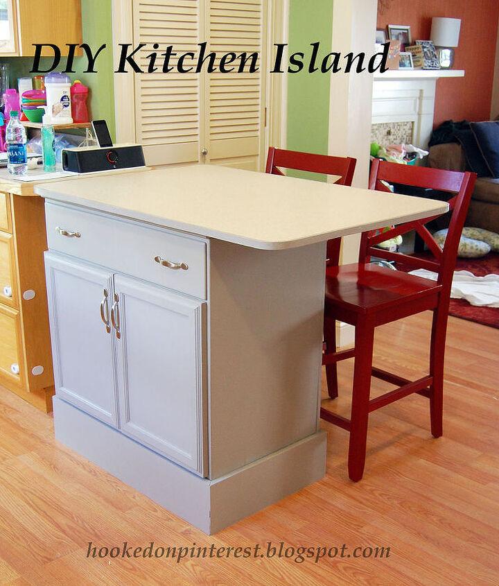 Repurposed Dresser Into Custom Kitchen Island