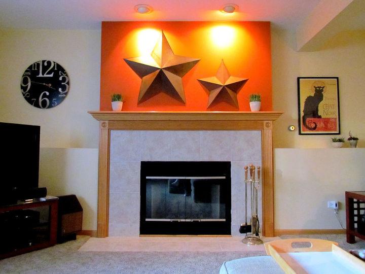 q ideas to dress up mantel, fireplaces mantels, home decor