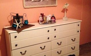 beach decor repainted bedroom, bedroom ideas, painting, After pic