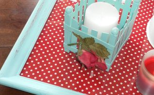 fun with polka dots a country cottage style tablescape, crafts, dining room ideas, kitchen design, repurposing upcycling