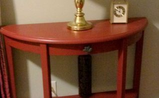 repainted great side table, painted furniture