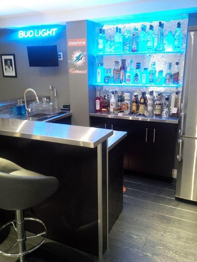 Rec Room Bar Designs: Beautiful Home Bar Designs, Furniture And Decorating Ideas