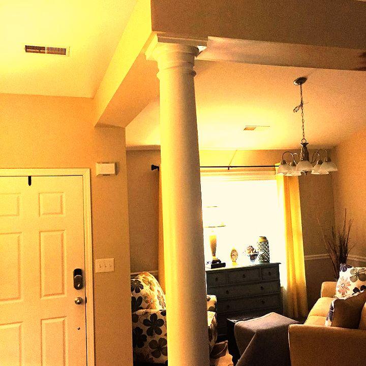 DIY- Making Ceiling Beams Look Like old Wood   Hometalk