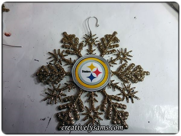 How to Make Sports Themed Christmas Ornaments   Hometalk