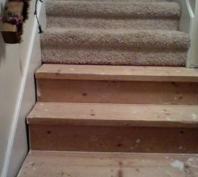 ... Our Staircase. We Have Installed All Of The Flooring Throughout The  Home Ourselves, Ripped Down And Put Up New Walls, Etc, So We Are Not Novice  DIYers.