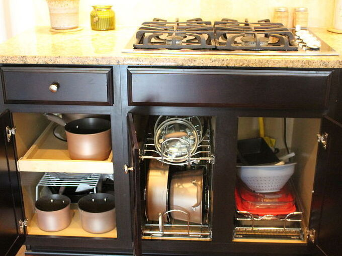 organizing your kitchen cabinets, kitchen cabinets, kitchen design, organizing