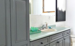 budget friendly bathroom makeover, bathroom ideas